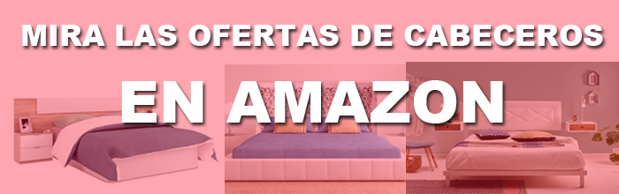 caberceros de cama amazon